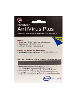 MCAFEE ANTI-VIRUS PLUS /1Y