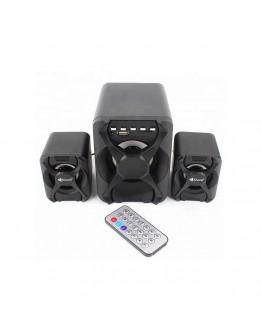 Тонколони Kisonli U-2500BT, Bluetooth, 5W+3W*2, USB, Черен - 22115